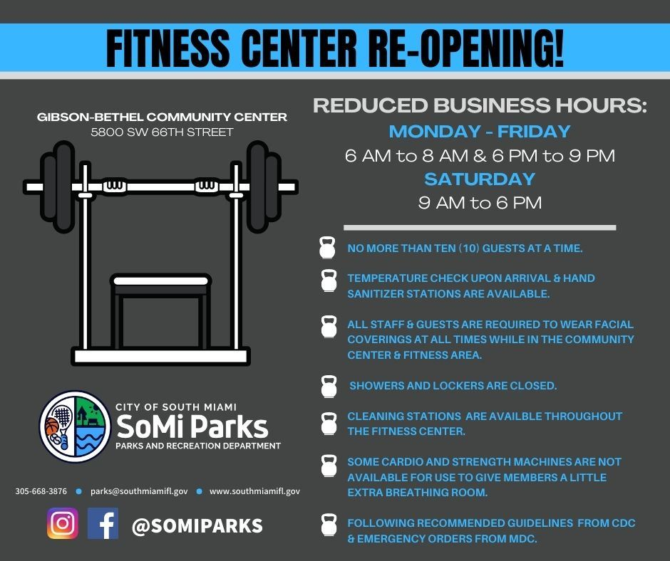 Fitness Center Opening (1) Opens in new window
